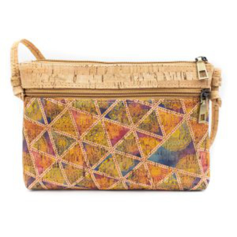 Čezramna torbica iz plute z vzorci