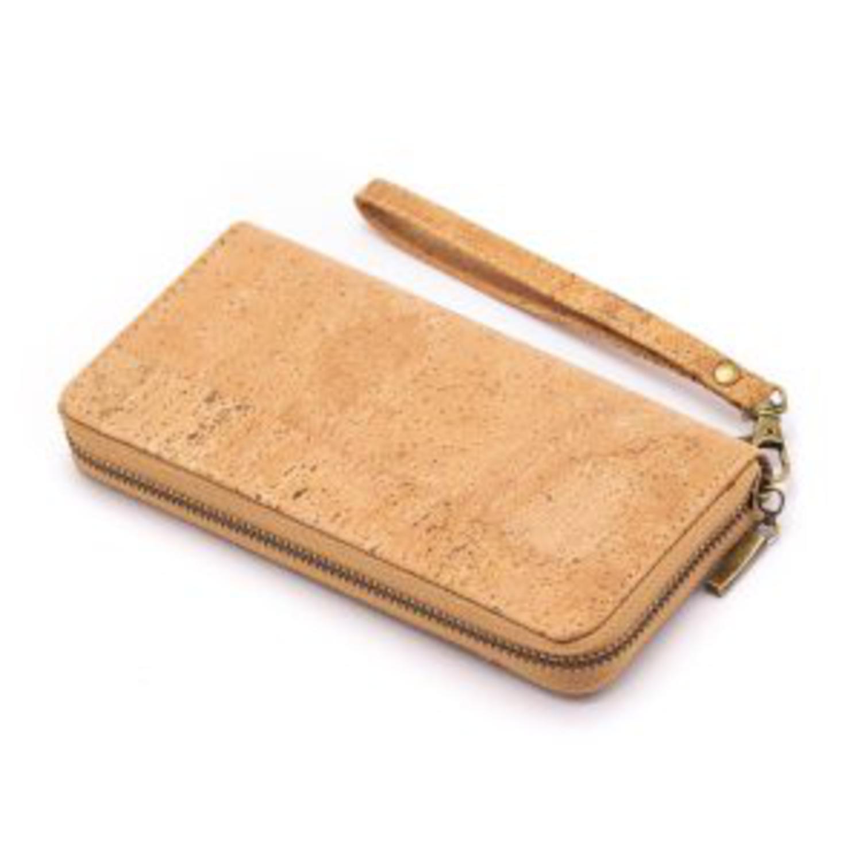 Dolga naravna ženska denarnica