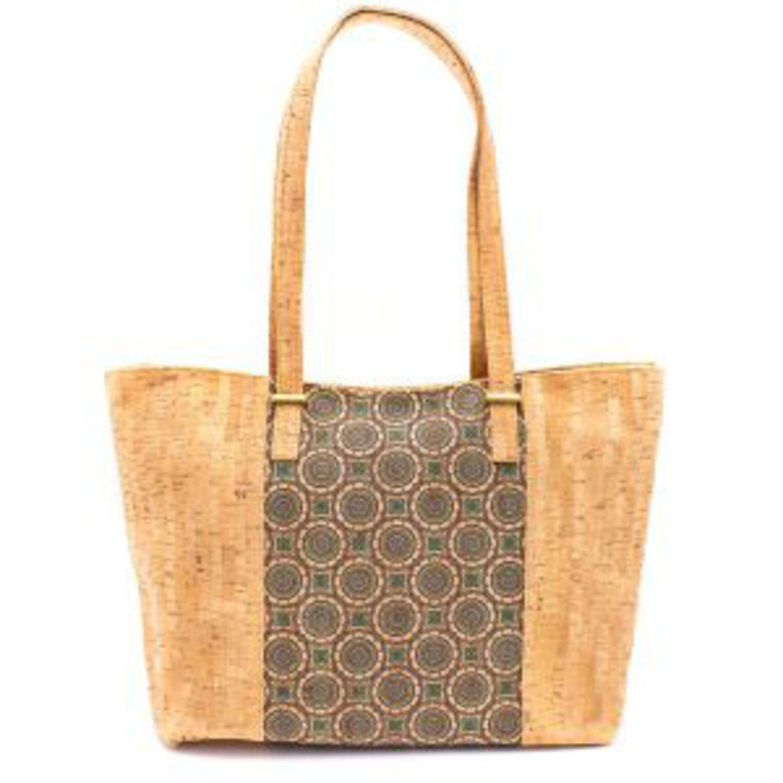 Naramna ženska torbica z vzorci