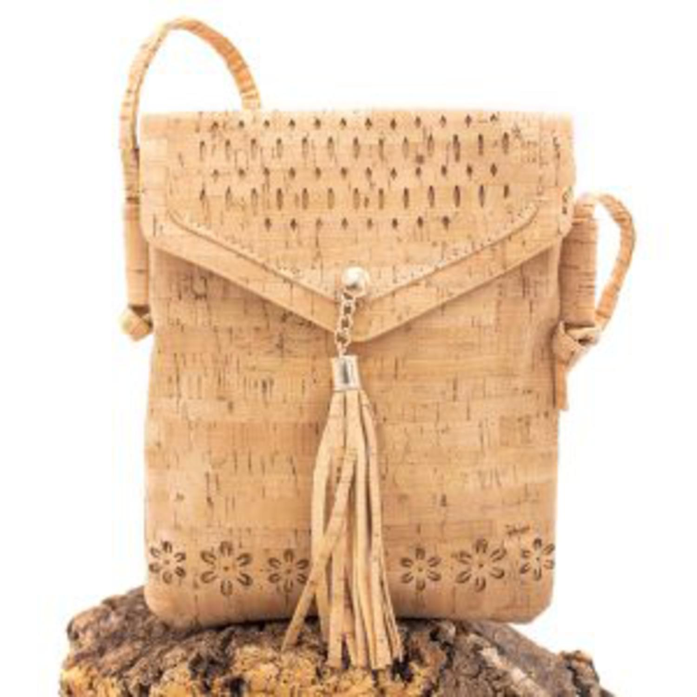 Naravna mini torbica iz plute