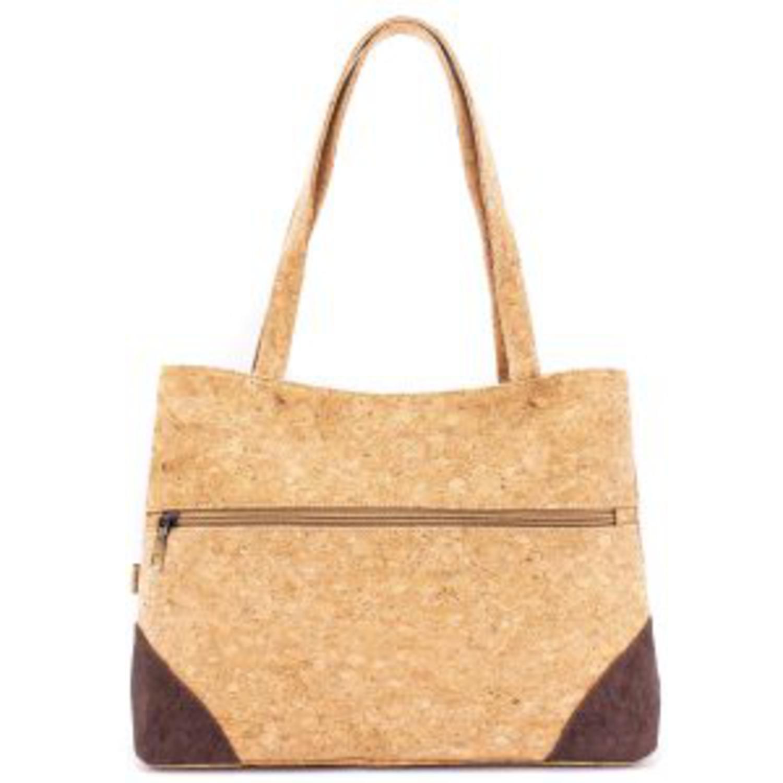 Ročna torbica z žepi iz plute