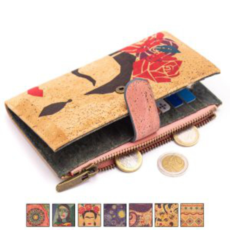 Ženska denarnica z motivi