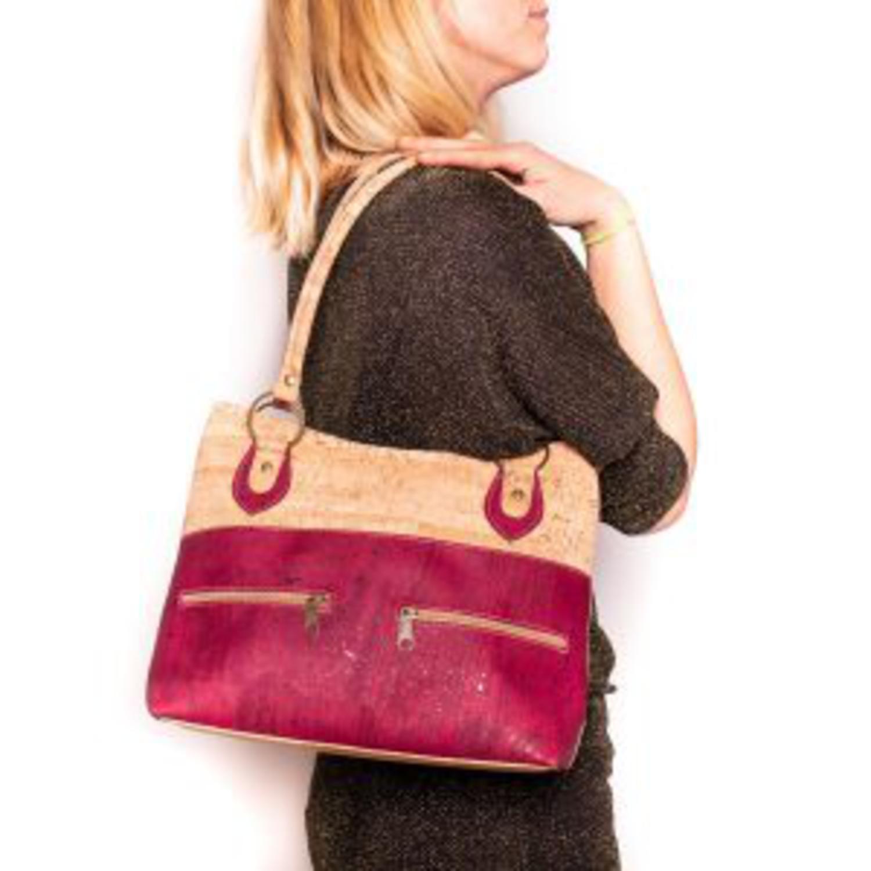 Ženska torbica z zadrgami Rustic