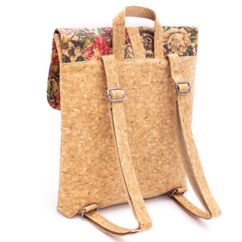 Naravni designerski nahrbtnik iz plute